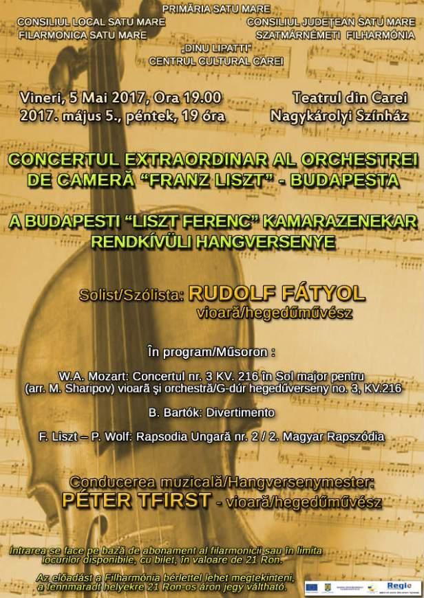 Afis Filarmonica 5 mai Teatru tipar