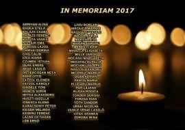 in memoriam 2017
