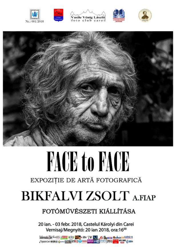 Face to Face plakáttervV