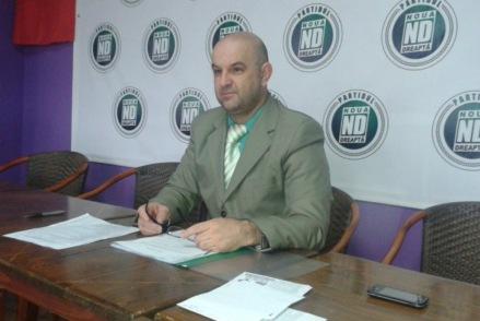 Virgiliu Angel Popescu - președintele Partidului Noua Dreaptă, filiala Arad (foto Aradon)