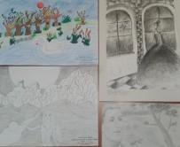 Secțiunea Grafică, clasele V-VIII: Lazăr Amarilis (I), Abrihan Adelina (II), Banto Fanny (III) și Bertalan Iadira (III)