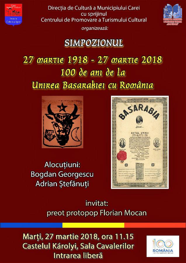 Unirea Basarabiei Simpozion 100