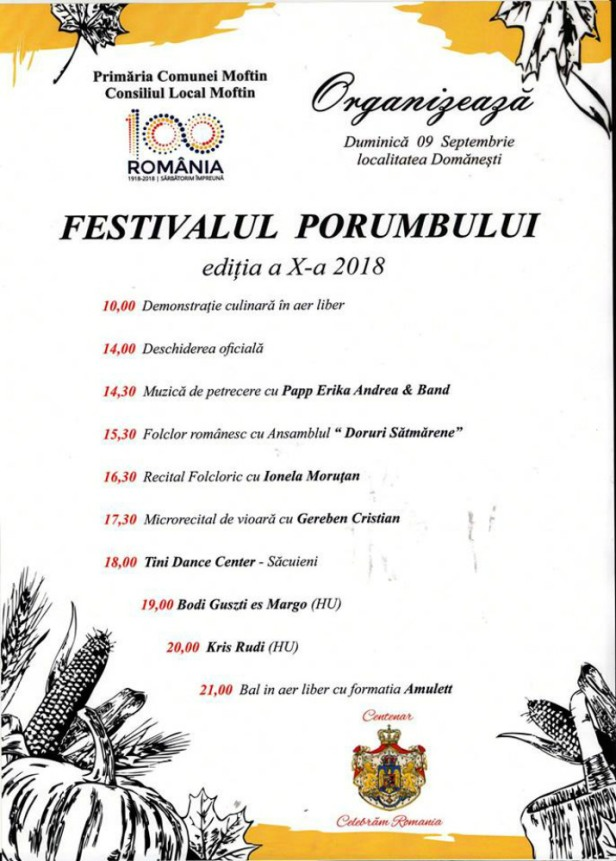 festival porumb