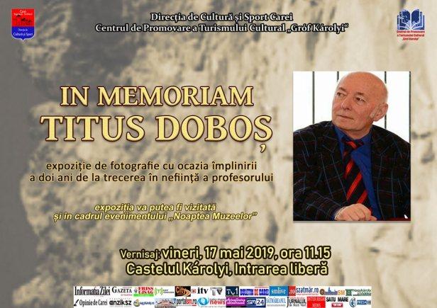 titus dobos in memoriam