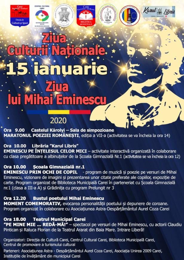 afis ziua culturii nationale (1)