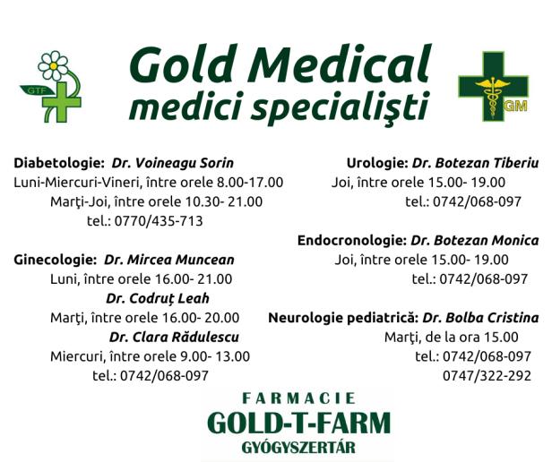 gold t farm consultatii ok