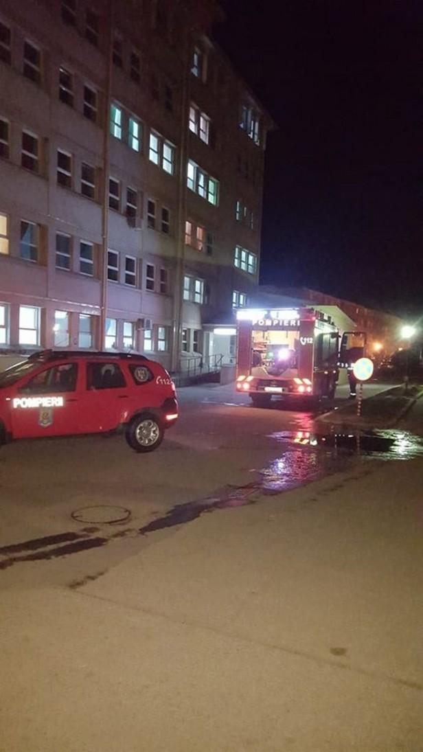 pompieri spital