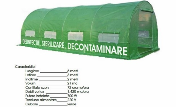 cort decontaminare