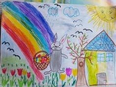 1-Concurs online de desene - Casian, 8 ani