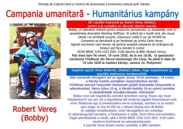 campanie umanitara bobby