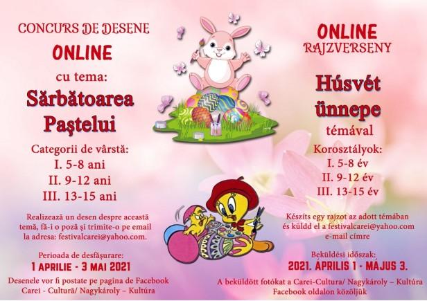 Afis Concurs Online Desen