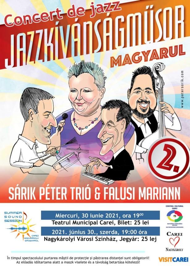 afis concert sarik peter trio